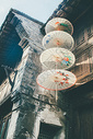 乌镇的油纸伞图片