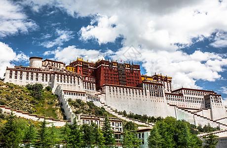 西藏布达拉宫胜景图片