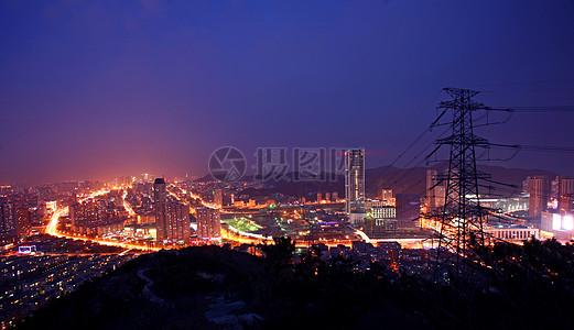 大连电力夜景图片