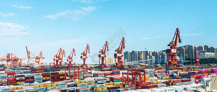 大连港集团大窑湾集装箱码头图片