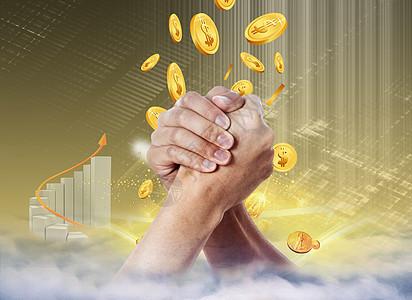 商务金融合作图片