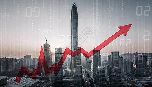 炒房投资楼市上涨ppt素材图片