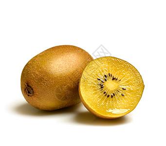 可口的黄心猕猴桃图片