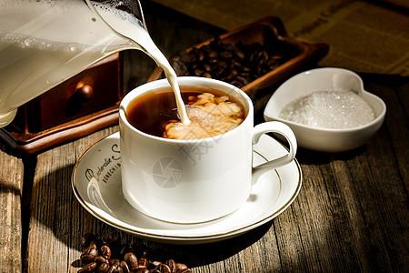 咖啡豆图片
