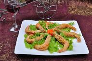 椒盐大虾图片