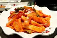 韩式炒年糕图片