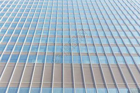简洁商务大厦外立面特写图片