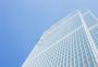 蓝天大气简洁商务大厦图片