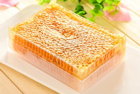 蜂蜜蜂巢图片