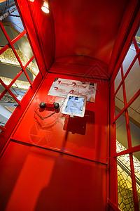 商场内的电话亭图片