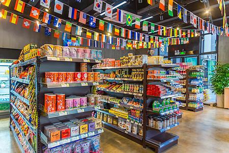 超级市场环境拍摄图片