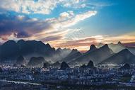 桂林群山图片