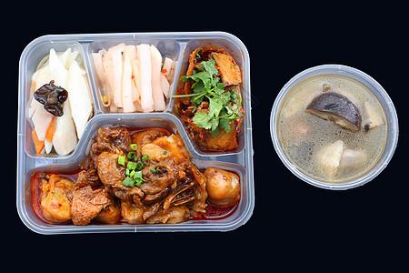 快餐盒饭图片