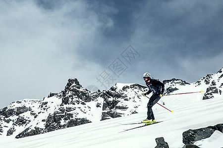 雪山上的激情图片