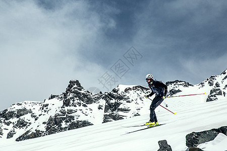 雪山上的激情 图片