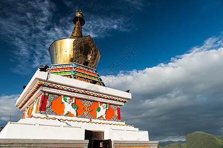 甘南寺庙图片