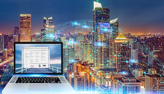 商业科技背景素材图片