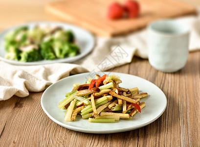 芹菜豆干图片