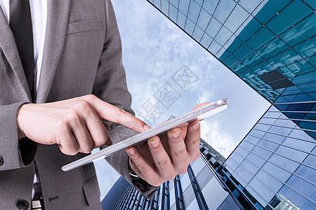 商务城市手机通信图片