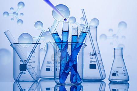 科学实验分子图片