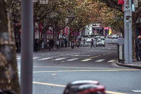 繁华大都市的一天图片