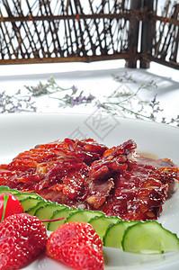 叉烧肉图片