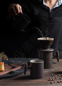 手冲咖啡杯图片