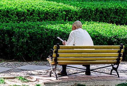 公园老人图片
