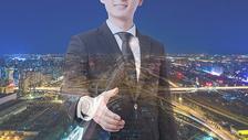 商务人士和城市图片