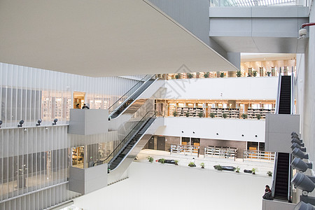 图书馆馆内建筑设计图片