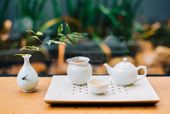 茶叶茶具茶室茶馆图片