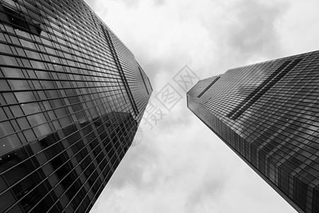 上海城市高楼建筑结构外立面图片