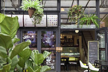 文艺咖啡厅酒吧图片