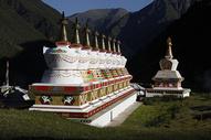 青藏寺庙图片
