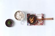 米饭大虾香辣虾海鲜炒饭图片