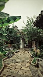 老门东的小庭院图片