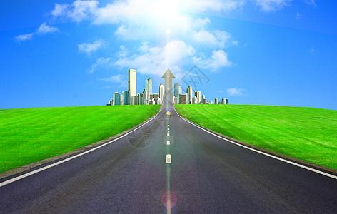 城市马路交通