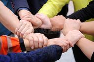 团队握手图片