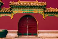 威武霸气的太庙图片