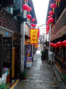 江南小道图片