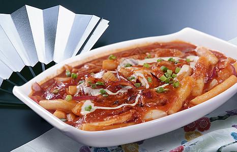 韩式炒糕照片图片
