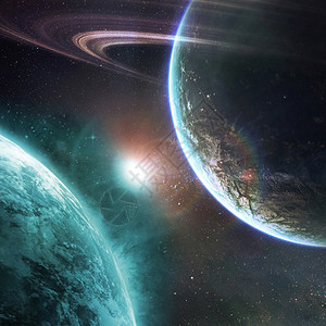 梦幻科技背景图片