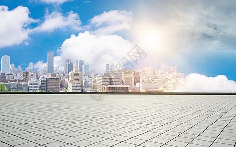 商务科技城市背景图片
