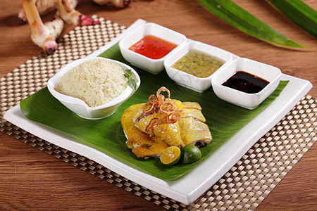 海南鸡饭美食图图片