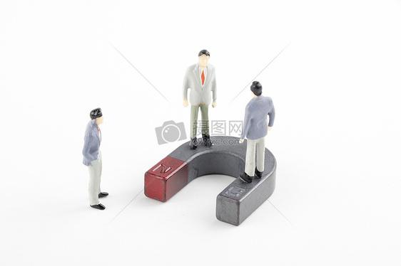 吸引人才商务谈判素材图片