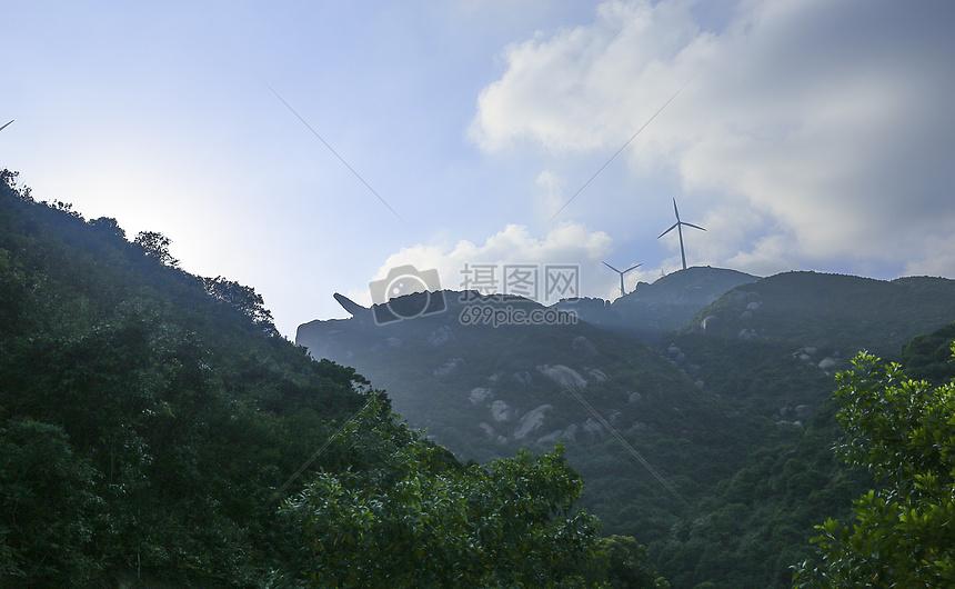 风车山摄影图片素材免费下载_自然/风景图库壁纸大全