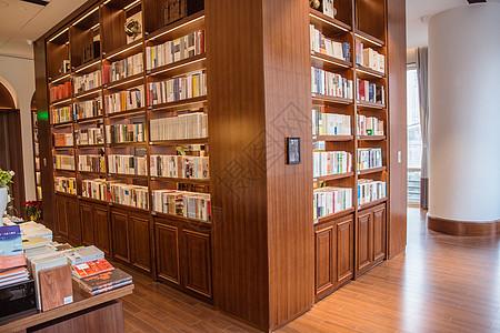 清新文艺城市温馨书店环境图片