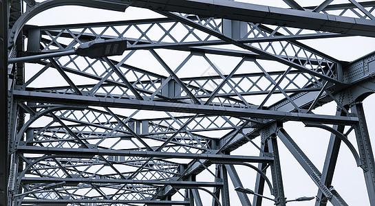 桥体线条钢筋质感设计图片
