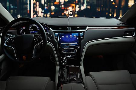 汽车内部科技导航配置图片