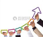 团队合作下的金融趋势图片